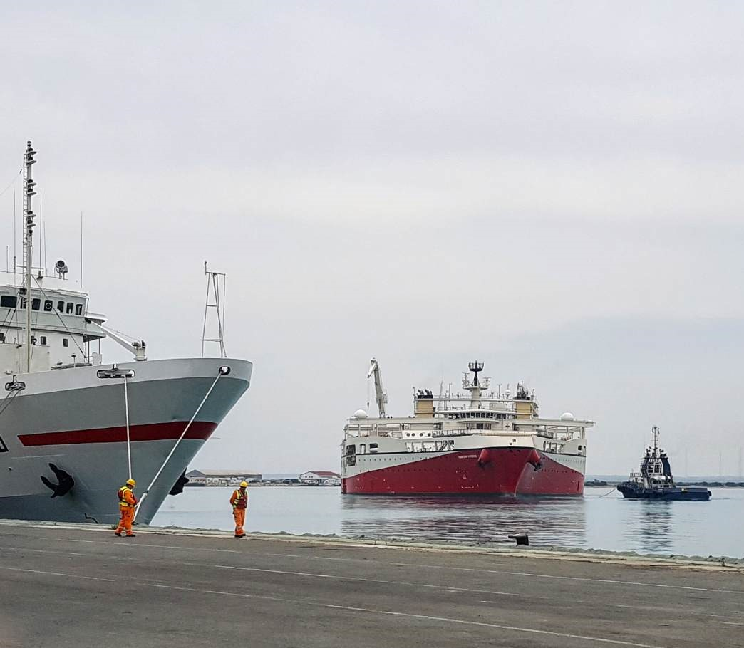 Ramford Hyperion - Seismic research vessel arrives in Limassol
